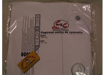 Papírové sáčky do vysavačů BEKO a ECG B002