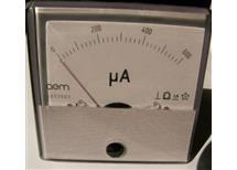 MP80 panel měřidlo 0-600 uA - DC Oem 80x80mm