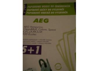 Papírové sáčky do vysavače AEG A005