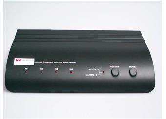 4nás přepínač SCART, automatické přepínání.,sign. kompositní, S-video včetně. stereoaudio doprodej V AKCI