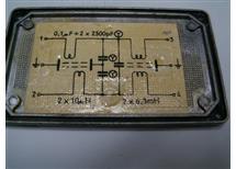 odrušovací filtr WN85202 Tesla -kvalitní odrušov.prostředek v AL-IP44 4A