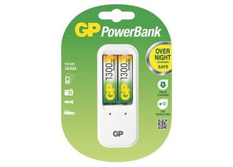 GP powerbank PB410 + 2x AA 1300mAh