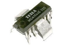 MDA1044E    IO; TV obvod; vertikální rozklad; IO16; THT.