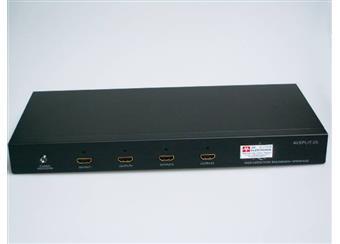 Rozbočovač HDMI Full HD 1080i  1x vstup 4x výstup SNÍŽENÍ CENY   profi Full HD 1080dpi
