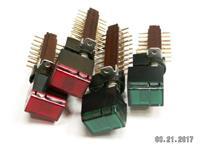 izostat přepínač s .kontrolkou-žár 12V zelená,rudá,žlutá, uveďte barvu