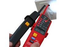 zkoušečka UT18C  akustická indikace, detekce polarity, osvětlení hrotu, test proudových chráničů, test rotace fází, test vodivosti