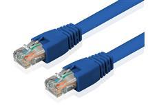 Internetový kabel UTP CAT6 1m - modrý