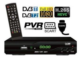 Di-WAy T2-one HEVC 265, poz přij Ful HD 1080p s novým kodekem HEVC H.265