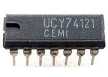 UCY74121 monostabilní klopný obvod, DIL14 /UCY74121,D121D skladem