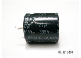 47uF 385V  85° EYS 07 56x53mm