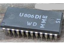 U806D  procesor, použito v TV ORAVA  332, 416, 423, 425, 429, 430, 437, 439