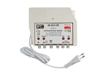 ant zesil GS411LTE napájení 230V výst.110-177 db UHF ,VHF, DAB profi