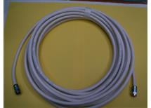 koax.kabel-účastnická šňůra 10m, Profi, nízkoútlumový, profi F  konektrory Kathrein