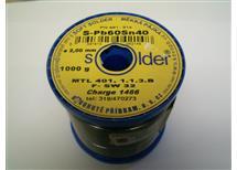 SN 60PB40   prům.2,0 - 1kg cín- doprodáno, zásoby v průměru do 1,5mm