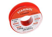 cín 1mm 100gr Stannol 505 Cristal - perfektní pájení S-SN60Pb40- pouze pro profesionální účely
