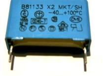 odruš kond MKT u22 /220nF 275V AC třída X2 do tišť sp.