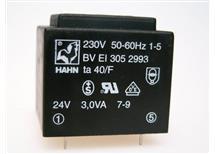 HAHN BV EI 305 2993 -do tištěných spojů 230/1x24V 3,0VA