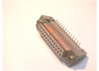 Zásuvka 25 pin Canon do plošného spoje AKČNÍ CENA