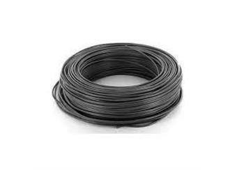 pocín.drát CU 1mm černá -Uš-pro slaboprodé a náročné aplikace- výrazně snížená cena