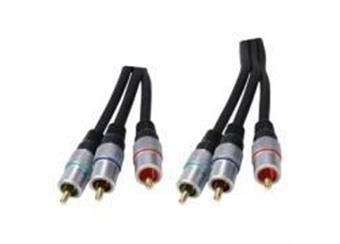 Komponentní video kabel 6xRCA 10m - profi