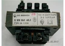 trafo 230 16V 0.6A 9WN86140,1  oddělené vinutí precizní provedení,  v akční ceně