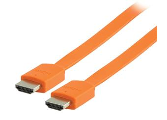 Kabel HDMI 2m oranžový