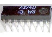 A274D= TCA740     řízení tónových korekcí   DIP 16