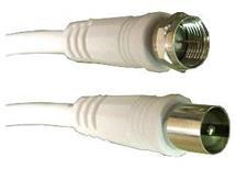 Účastnická šňůra 3m - IEC a F konektor