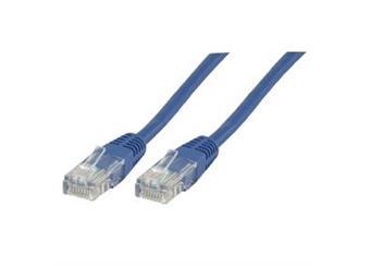 Internetový kabel UTP CAT5E 10m - modrý