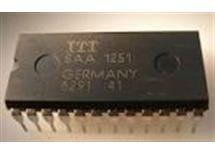 SAA1251-1 - IR-RC přijímač,  ITT  DIP 24
