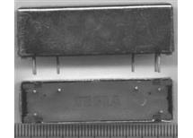 HU160116 36V, 3 kontakty, 2 vinutí  jazýčkové relé