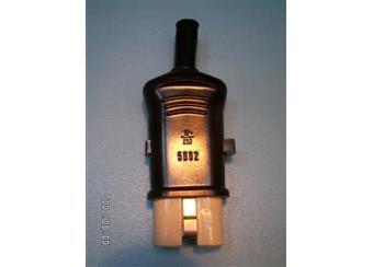 nástrčka s vypín 5882-21 pro Remos a jiné, orig s porcelán.koncem