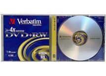 DVD+RW Verbatim 4,7GB 1-4x