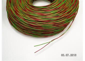 Zvonkový drát 2x1 CU pocín, balení 300m - cena balení 750,-Kč,