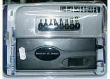 univ napájecí zdroj 12-20V 150W 7,5A  110-240V + 5V 1A USB -s diplejem výst napětí pro NOTEBOKY